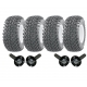 Twin axle ATV trailer kit - wheels..