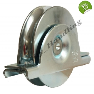 100mm pulley wheel in bracket,sliding ..
