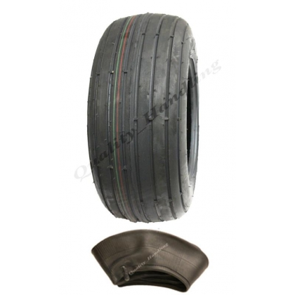 16x6.50-8 6ply rib tyre with tube