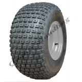 18x9.50-8 knobby tyre on four stud rim