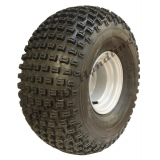 22x11-8 knobby tyre on 4 stud rim -P32..