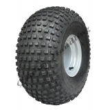 22x11-8 knobby tyre on 4 stud rim P323