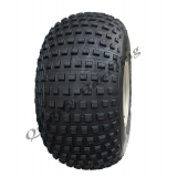 25x12.00-9 Knobby tyre on 4 stud rim