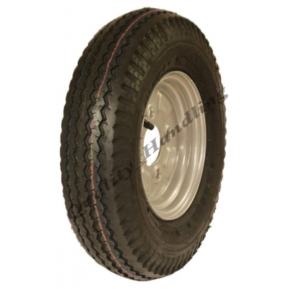 4.80/4.00 - 8 road legal high speed wheels 6 ply tyre and rim