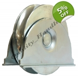 pulley wheel in bracket, sliding gate,..