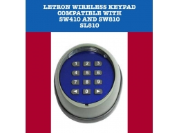 Letron Wireless Keypad