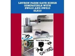 Letron Farm Gate hinge - ball racing