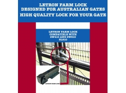 Letron Electric Farm Lock