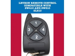 Remote Control For Letron Automatic Gate Opener