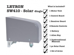 swing gate opener sw410 solar single