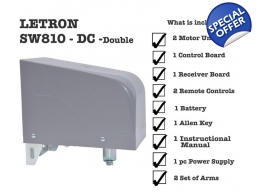 swing gate opener sw810 DC double