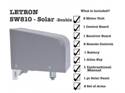 swing gate opener sw810 solar double