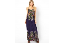Border Maxi Dress
