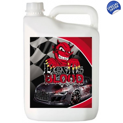 5 Litre Devils Blood Car Paint, Wheel Cleaner Iron Fallout Remover X title=