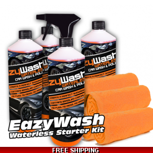 4 X 500ml EazyWash Waterless Car Wash ..
