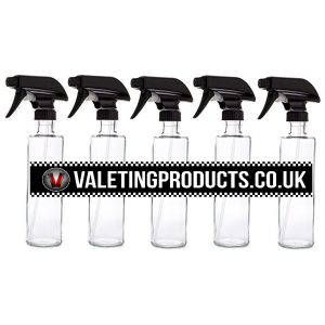 5 Pack of 1 Litre Trigger Spray Bottles