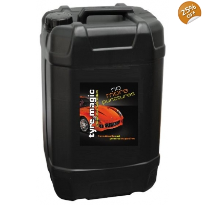 25 Litre Tyre Magic Puncture Sealant title=
