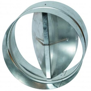 150mm Non Return Damper - Back Draft Damper