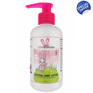 Daisy's Natural baby lotion
