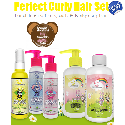 The Perfect Curly Hair Set for kids