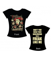 VENTRILOQUIST LADIES TEE - VINCE RAY DESIGN