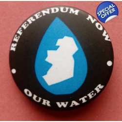 Water Referendum Badge