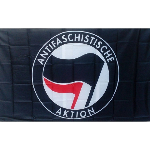 Antifaschistische Aktion Flag