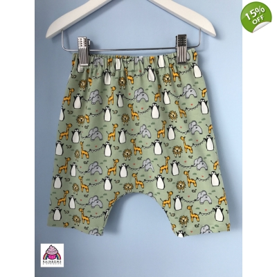 Baby Zoo Animal Shorts