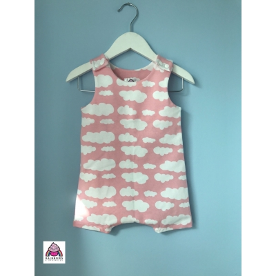 Baby Pink Cloud Short Leg Du..