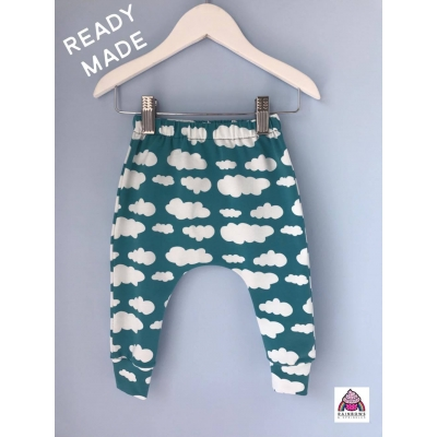 Teal Cloud Leggings 18-24m