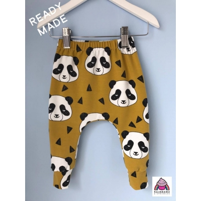 Mustard Panda Leggings ..