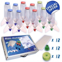 12 Piece Water Rocket Class Pack