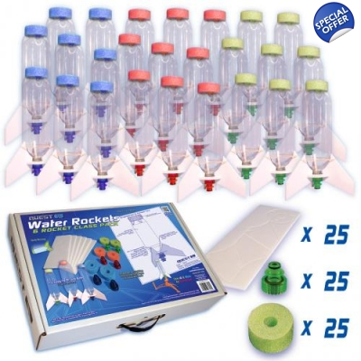 25 Piece Water Rocket C..