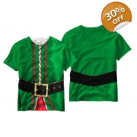 Elf T-shirt Youth - Kids Christma..