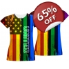 Gay Pride Girls T-shirt..