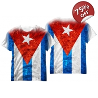 Cuban Flag T-shirt - Cuban Pride ..
