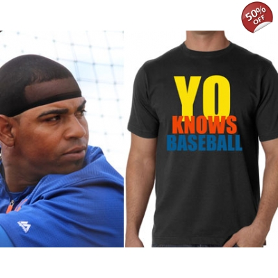YO KNOWS BASEBALL SHIRT - YOENIS CESPEDES METS T-SHIRTS