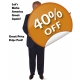 Trump Cardboard Cutouts Lifesize Standups - CHEAP! - Make America Great Again Donald Trump Standups