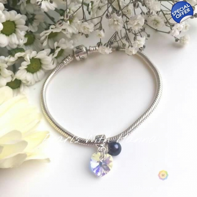 Mirror Crystal Charm