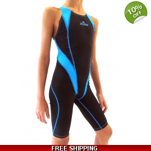 Knee length Racing Swim Suit - Energy DS