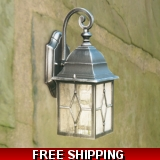DECORATIVE LIGHTING OUTDOOR WALL LIGHT..