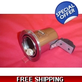 DOWN LIGHT TILT 12 volt SATIN chrome q..