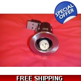 DOWN LIGHT fixed gu10 satin chrome qu..