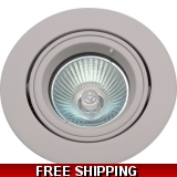 DOWNLIGHT WHITE MATT MR16BELOW COST TD..