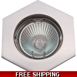 DOWNLIGHT POLISHED CHROME MR16BELOW CO..