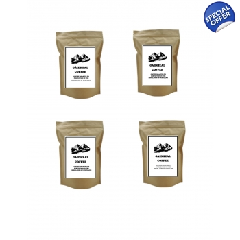 4 x 1 Kg Gaedheal Espresso Coffee Beans Medium Roast