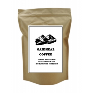 2 x 250g Bag of Gaedheal Espresso ground coffee plus free cafetiere
