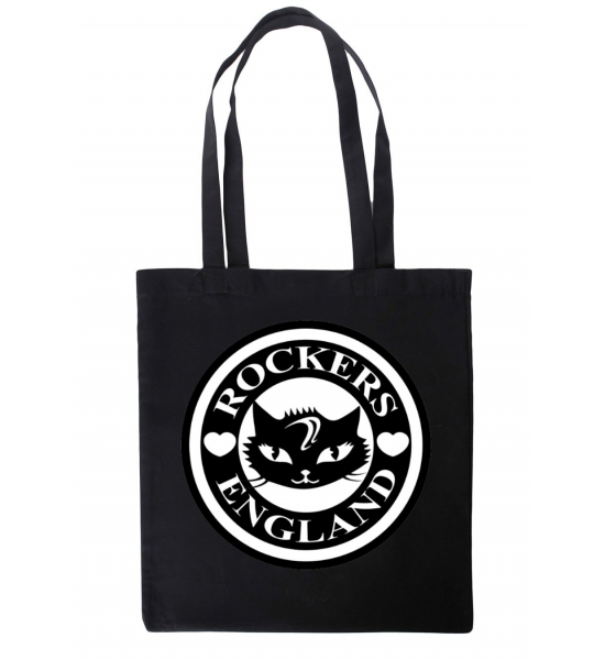 Rockers England Tote Bag Cat Design UK P&P Included