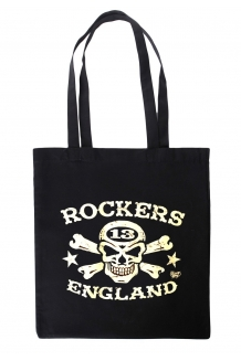 Rockers England Tote Bag Vince Ray Design Logo. UK P&P Included