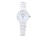 Skagen 572SSXWC White Ceramic Dial Ladies Watch